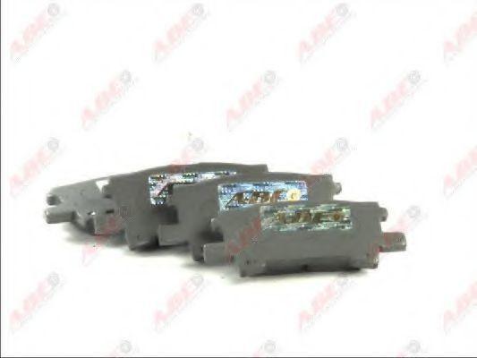 Колодки тормозные ABE C22032ABE