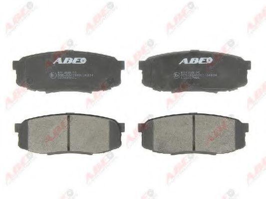 Колодки тормозные ABE C22039ABE