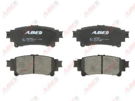 Колодки тормозные ABE C22042ABE