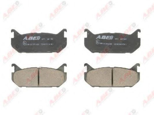 Колодки тормозные ABE C23007ABE
