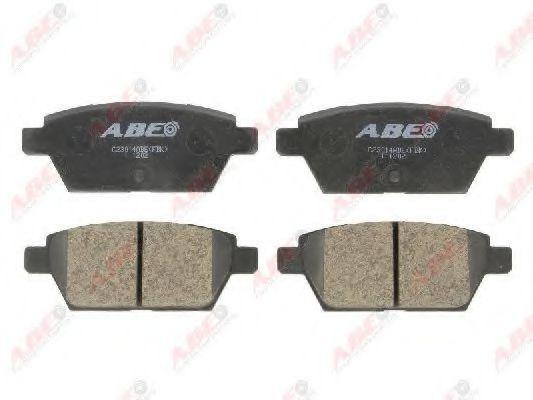 Колодки тормозные ABE C23014ABE