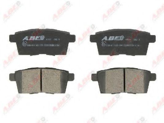 Колодки тормозные ABE C23015ABE