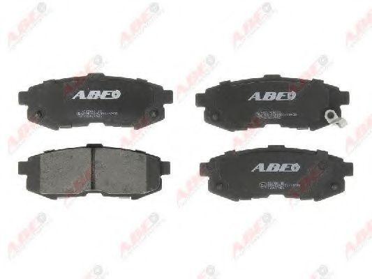 Колодки тормозные ABE C23017ABE