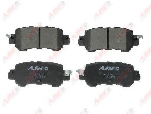 Колодки тормозные ABE C23018ABE