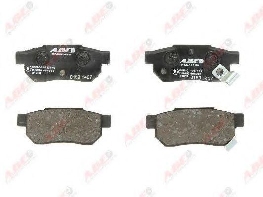 Колодки тормозные ABE C24002ABE