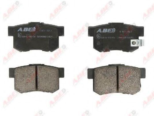 Колодки тормозные ABE C24009ABE