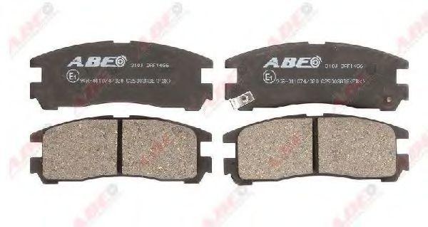Колодки тормозные ABE C25003ABE