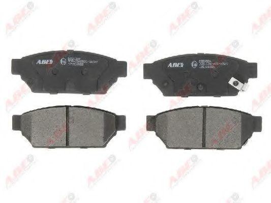 Колодки тормозные ABE C25004ABE