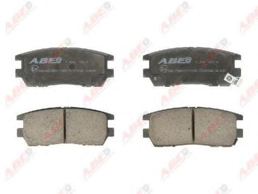 Колодки тормозные ABE C25005ABE