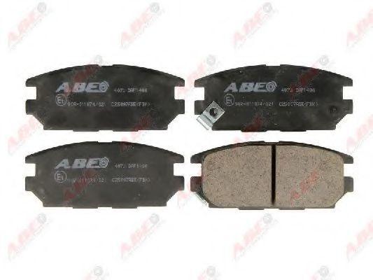 Колодки тормозные ABE C25007ABE