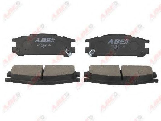 Колодки тормозные ABE C27001ABE