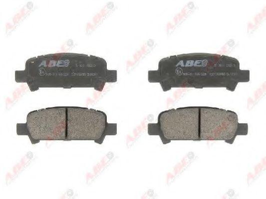 Колодки тормозные ABE C27002ABE