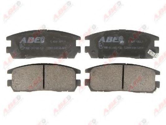 Колодки тормозные ABE C29001ABE