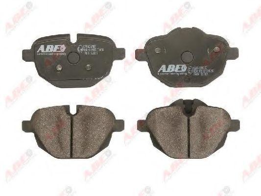 Колодки тормозные ABE C2B024ABE