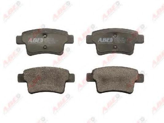 Колодки тормозные ABE C2C011ABE