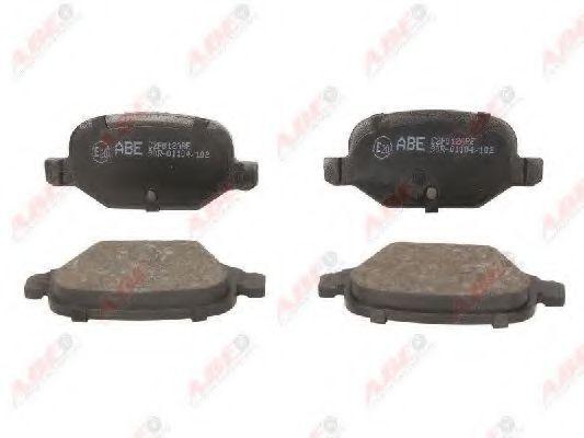 Колодки тормозные ABE C2F012ABE