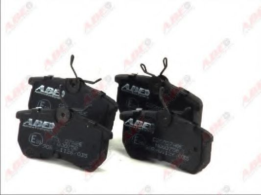 Колодки тормозные ABE C2G007ABE