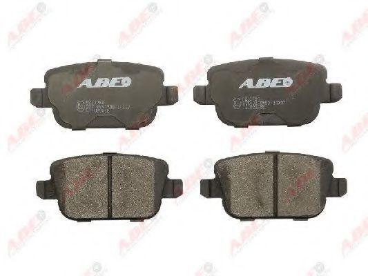 Колодки тормозные ABE C2I003ABE