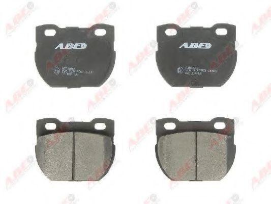 Колодки тормозные ABE C2I004ABE