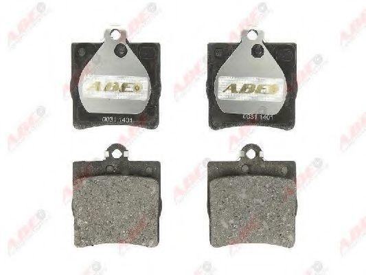 Колодки тормозные ABE C2M014ABE