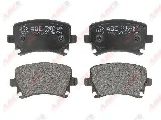 Колодки тормозные ABE C2W021ABE