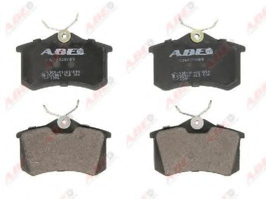 Колодки тормозные ABE C2W028ABE