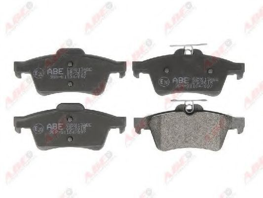 Колодки тормозные ABE C2X013ABE