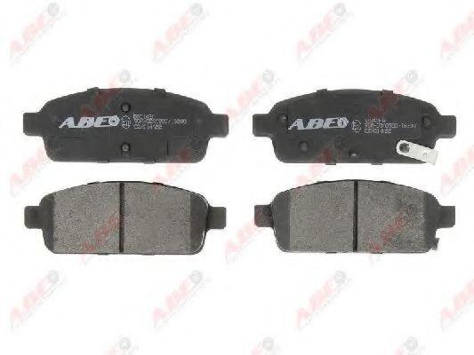 Колодки тормозные ABE C2X014ABE