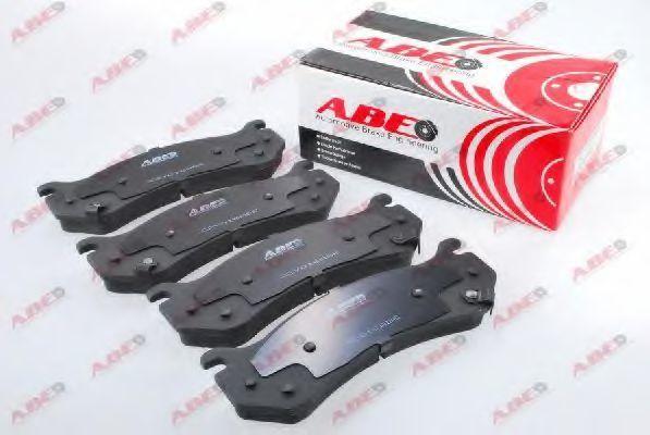 Колодки тормозные ABE C2Y016ABE