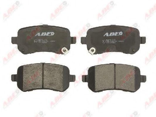 Колодки тормозные ABE C2Y024ABE