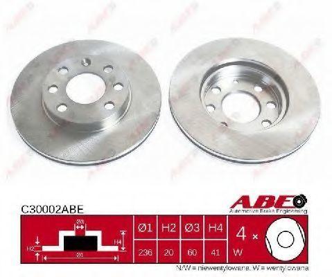 Диск тормозной ABE C30002ABE