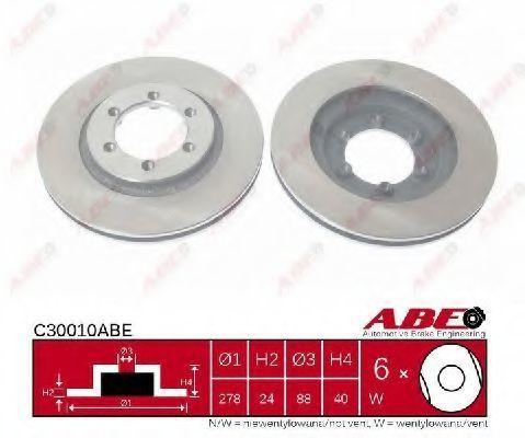 Диск тормозной ABE C30010ABE
