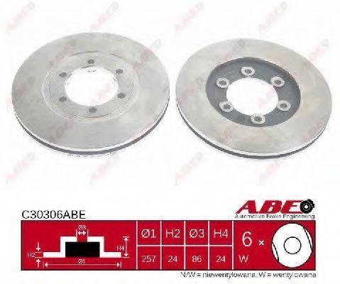 Диск тормозной ABE C30306ABE
