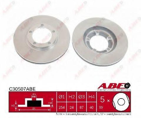 Диск тормозной ABE C30507ABE