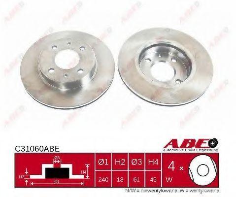 Диск тормозной ABE C31060ABE