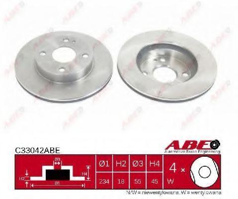 Диск тормозной ABE C33042ABE