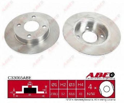 Диск тормозной ABE C33065ABE