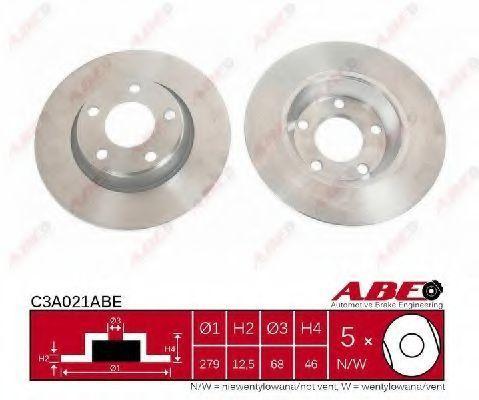 Диск тормозной ABE C3A021ABE
