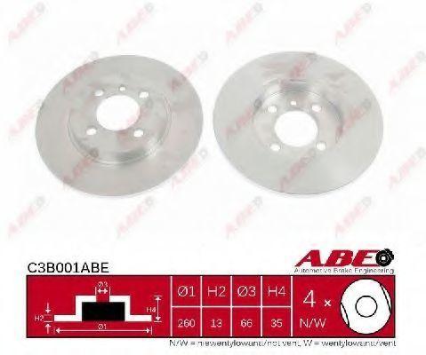 Диск тормозной ABE C3B001ABE