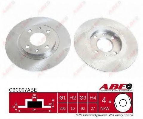 Диск тормозной ABE C3C007ABE