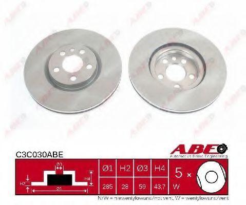 Диск тормозной передний ABE C3C030ABE