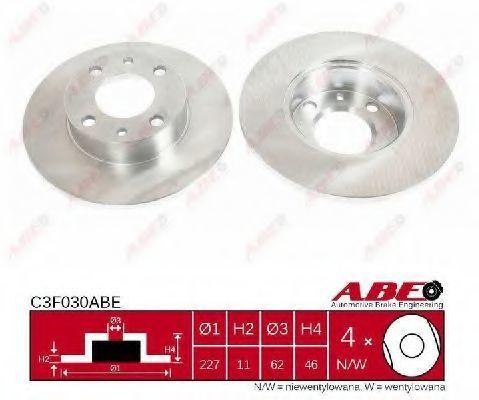 Диск тормозной ABE C3F030ABE