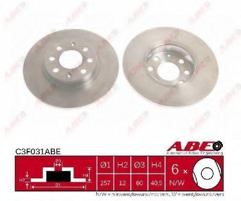 Диск тормозной ABE C3F031ABE
