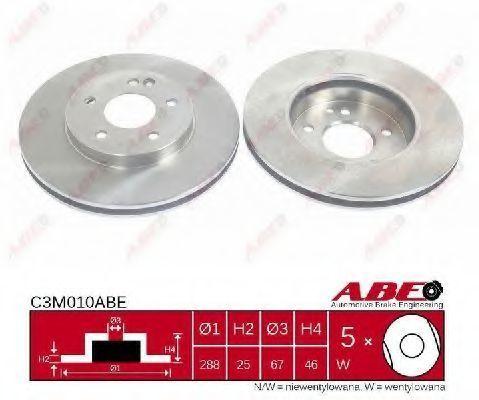 Диск тормозной ABE C3M010ABE