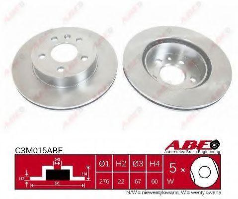 Диск тормозной ABE C3M015ABE