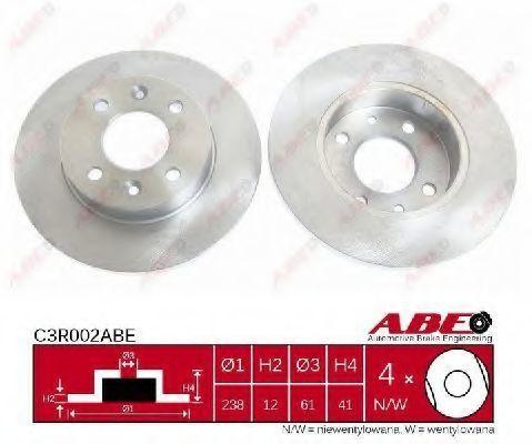 Диск тормозной ABE C3R002ABE