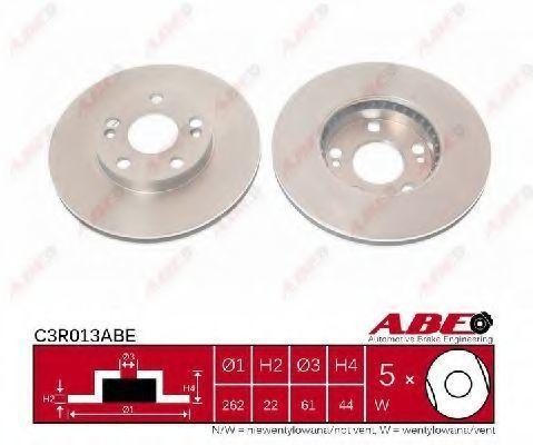 Диск тормозной ABE C3R013ABE