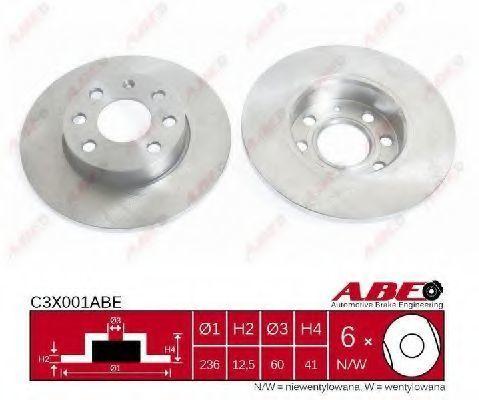 Диск тормозной ABE C3X001ABE