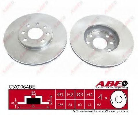 Диск тормозной ABE C3X006ABE