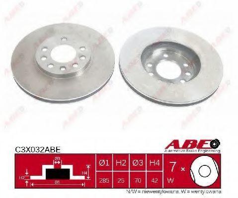 Диск тормозной ABE C3X032ABE